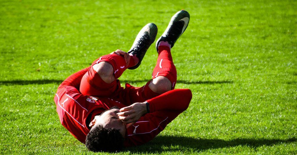 Diferentes tipos de lesiones deportivas